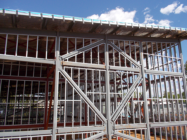Steel Frames Trusses WA - Interior and Exterior Walls