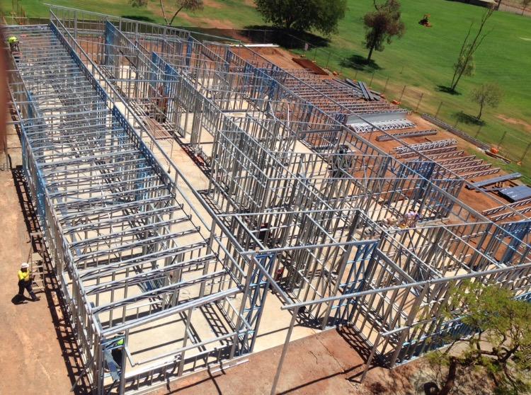 Steel Frames Trusses WA - Paraburdoo Childcare