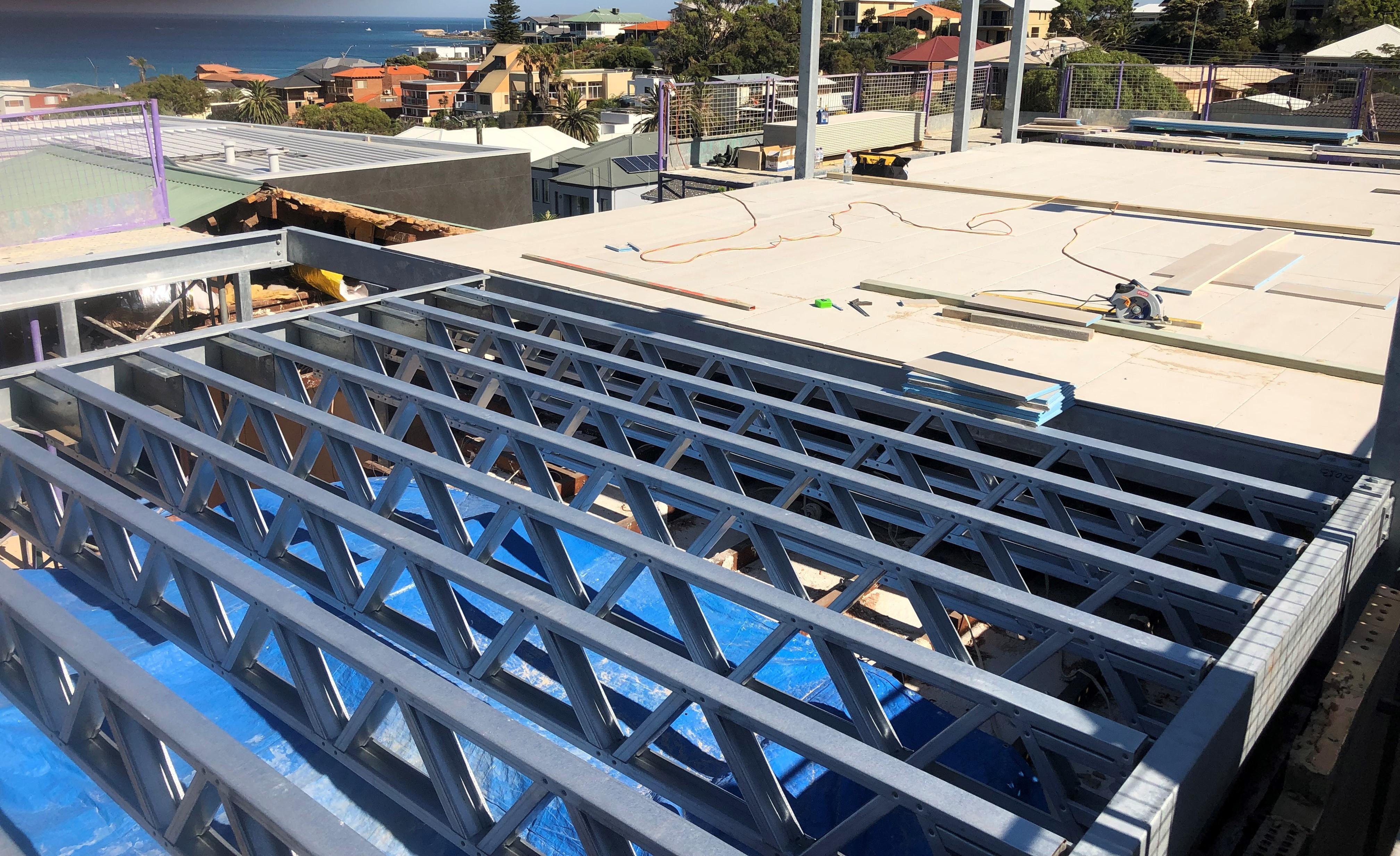 Steel Frames Trusses WA - Residential