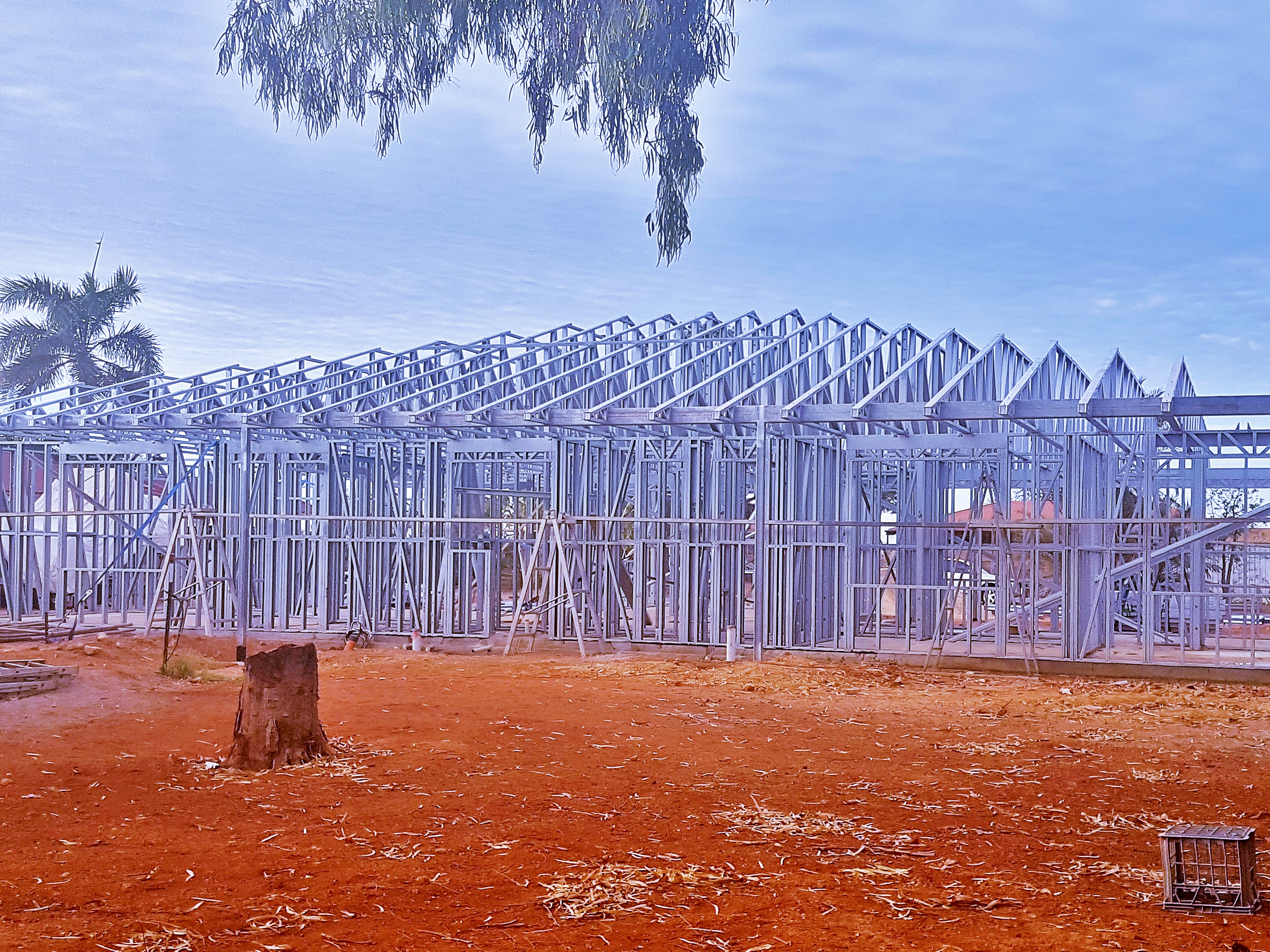 Steel Frames Trusses WA - Trusses